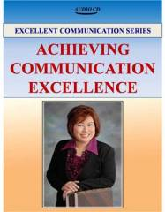 Audio 08 - Achieving Communication Excellence